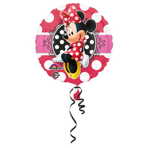 Standard Minnie Portrait Folienballon 43 cm
