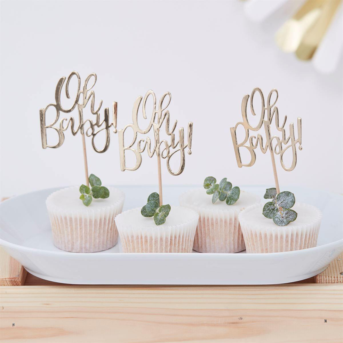 Babyparty Cupcake Topper