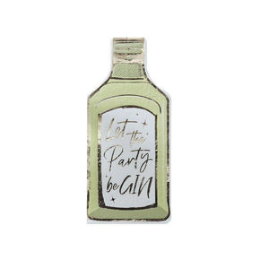 Let The Party Be Gin Paper Napkins image