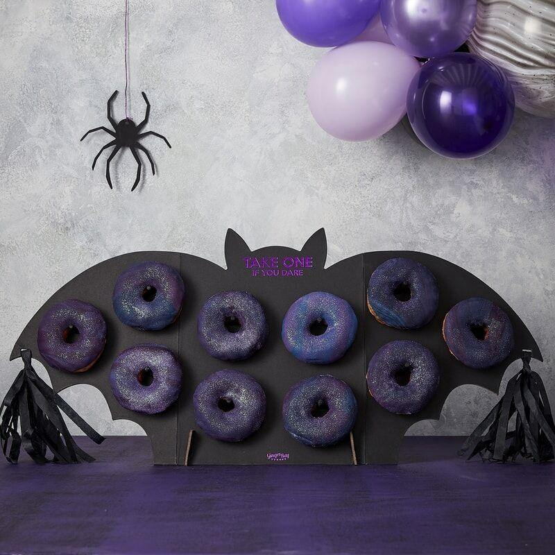 Halloween Bat Party Donut Wall Food Stand image
