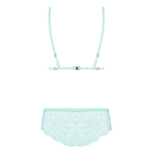 Load image into Gallery viewer, Delicanta Set Mint Bra And Panties