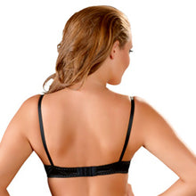 Load image into Gallery viewer, Cottelli Half Cup Bra Black