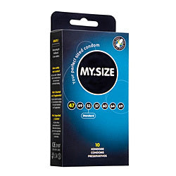 My.Size 47mm Condom 10 Pack