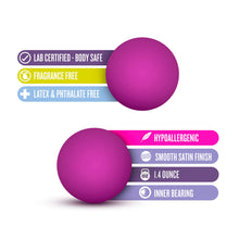 Load image into Gallery viewer, Luxe Pink Double O Kegel Balls Weighted 1.3 Ounce