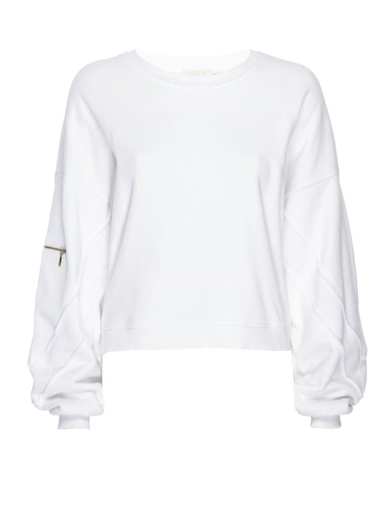 Nations Jonni Seamed Sweatshirt White