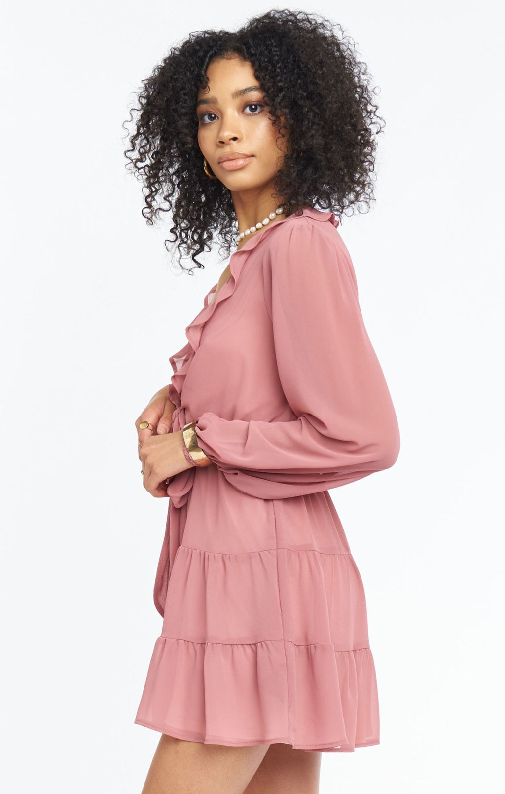Show Me Your Mumu Addy Tie Dress Sunset Rose