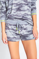 P.J. Salvage Neon Short Pop Grey