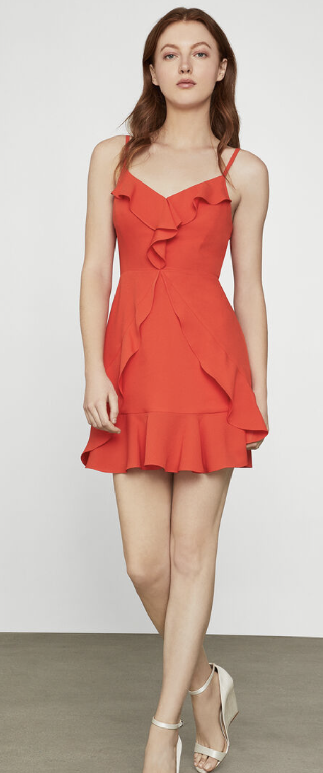 BCBG Maxazria Eve Short Dress