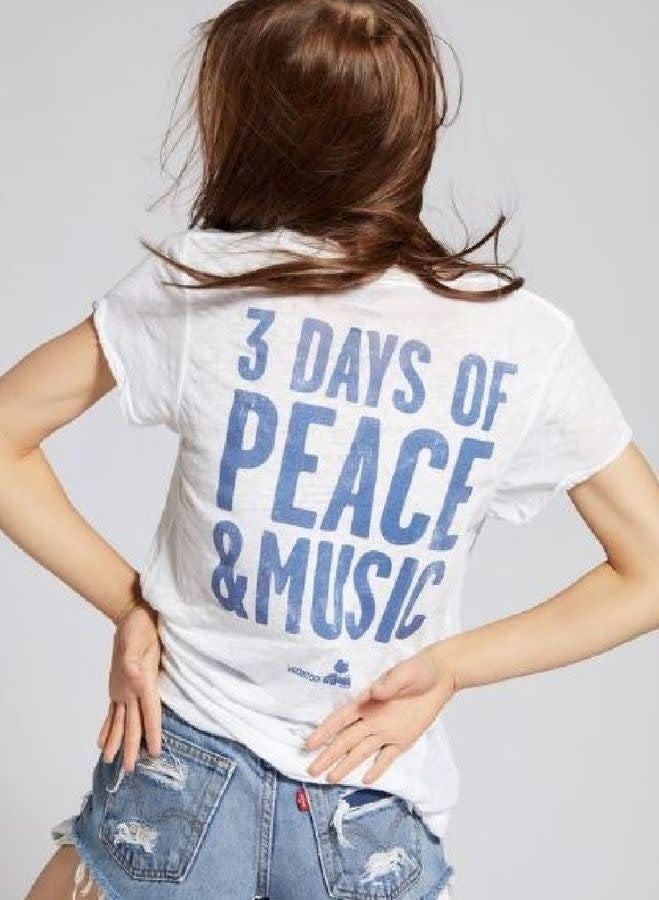 Recycled Karma Woodstock 3 Days of Peace & Music White