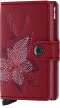 Load image into Gallery viewer, Stitch Magnolia Rosso Miniwallet (5906421088420)