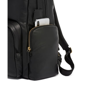 Voyageur - Carson Leather Backpack (5937036755108)