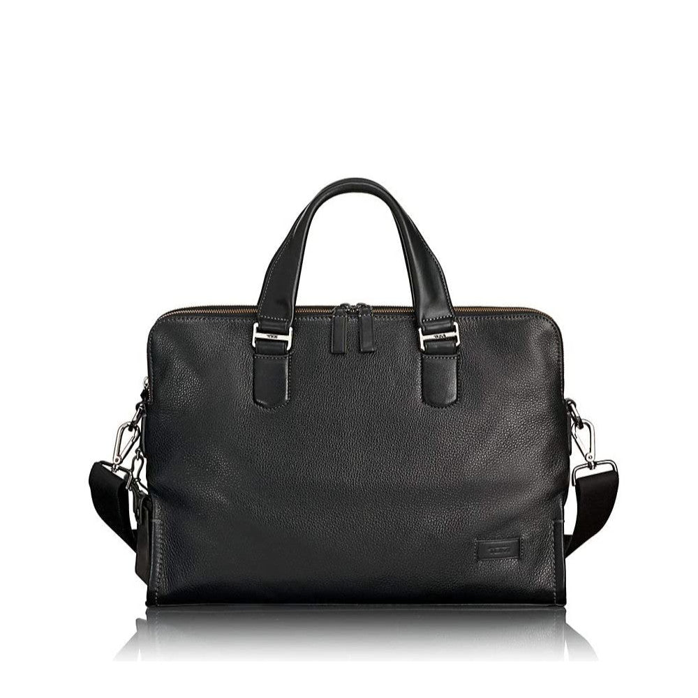 Harrison - Seneca Slim Leather Briefcase (5950859444388)