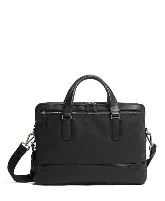 Harrison - Sycamore Slim Leather Briefcase (5865731522724)
