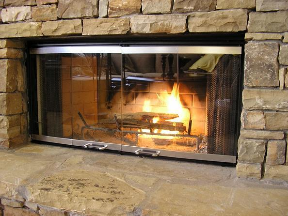 DM1042 Fireplace Glass Doors