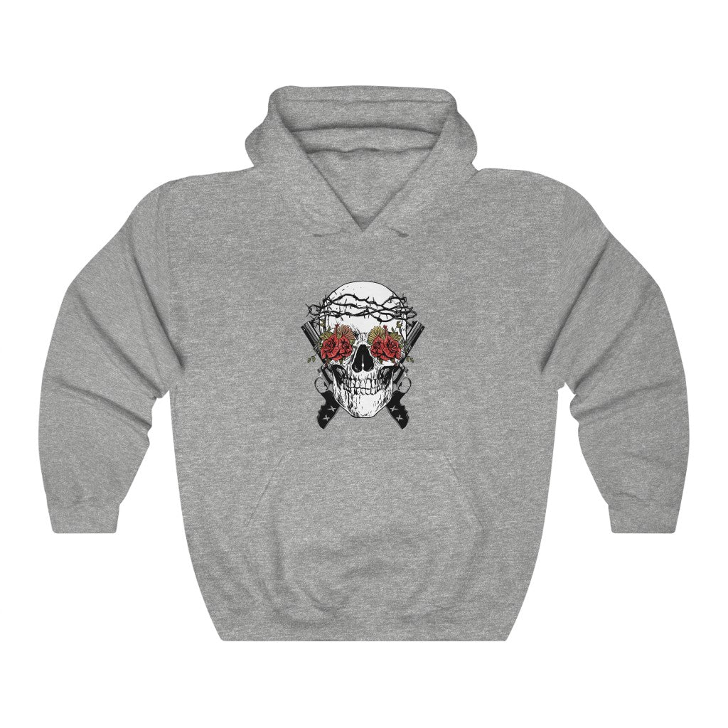 Guns-n-Skulls Hooded Sweatshirt