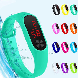 Halloween gifts LED electronic sport watch for children