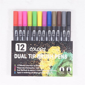(Halloween Gifts) DIY 100 Colors Art Markers for Children Design