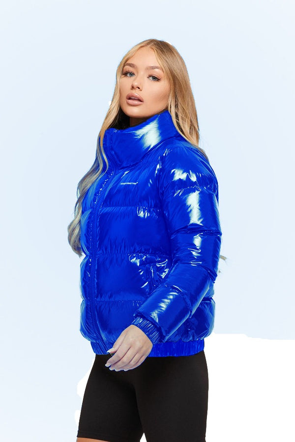 Blue Puffer Jacket (women)