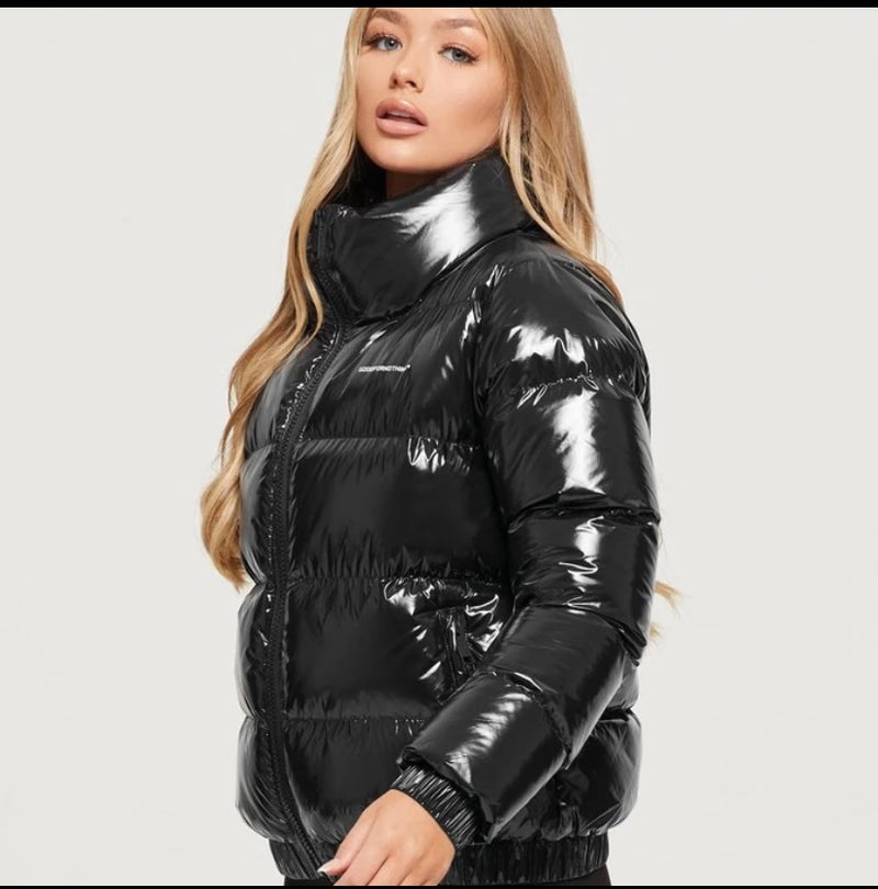 Black Puffer jacket (women)