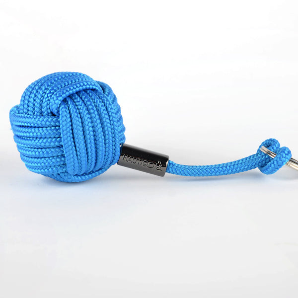 Monkey-fist-keyfloat-blue