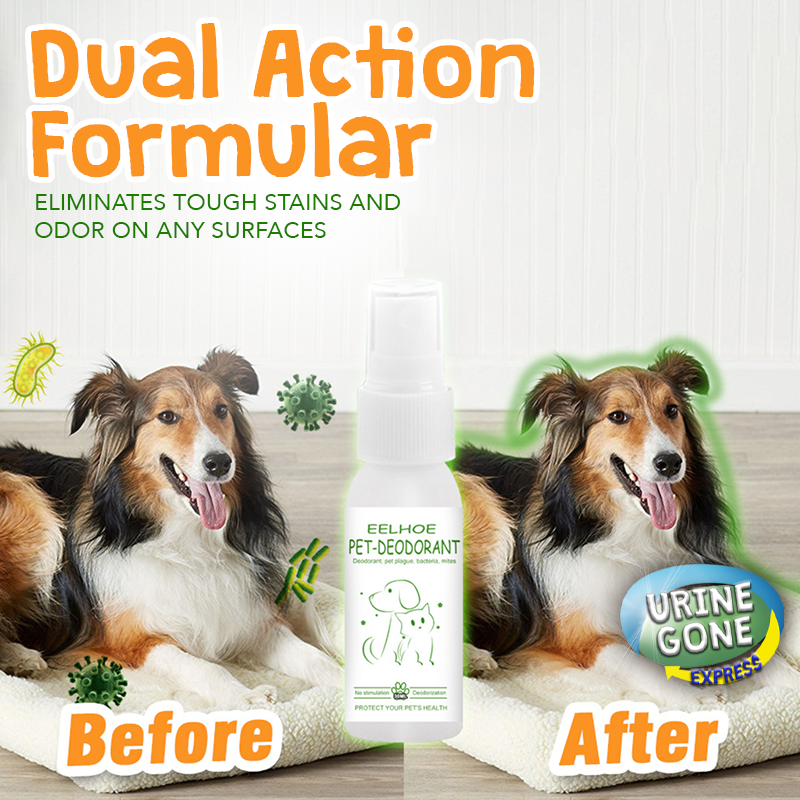 fast-acting enzyme cleaner and room freshener