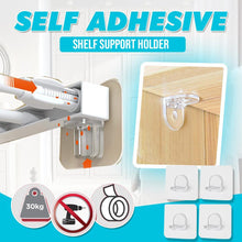 Load image into Gallery viewer, Self Adhesive Shelf Support Holder