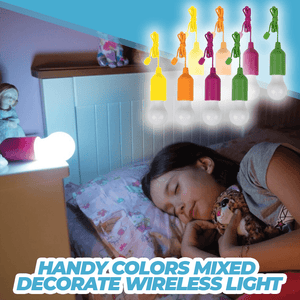 Handy Colors Mixed Decorate Wireless Light