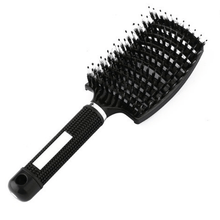 Load image into Gallery viewer, SilkyKiss Bristle Nylon Hairbrush