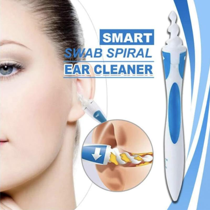 Spiral Swab Silicone Ear Cleaner