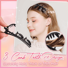 Load image into Gallery viewer, Double Bangs Hairstyle Hair Clips - 6PCS
