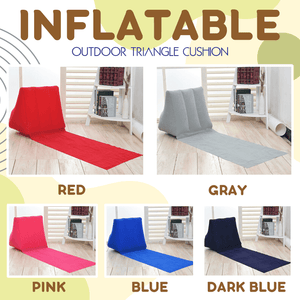 Inflatable Outdoor Triangle Cushion