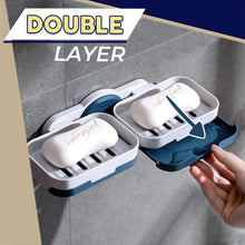 Load image into Gallery viewer, Punch-Free Double Layers Soap Holder