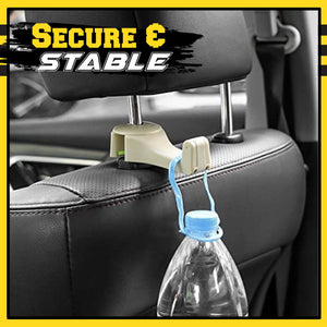 2 in 1 Auto Vehicle Back Seat Headrest Hanger 1688