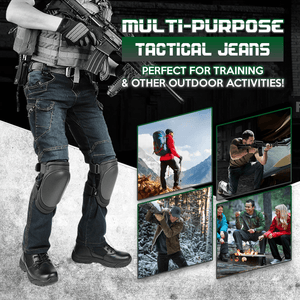 StretchFit Tactical Cargo Jeans