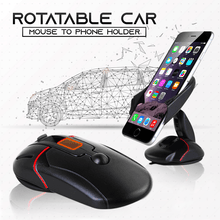 Load image into Gallery viewer, Rotatable Car Mouse-To-Phone-Holder