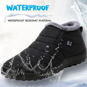 Women Waterproof Thick Fleece Boots