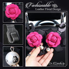 Load image into Gallery viewer, Car Camellia Back Seat Hooks