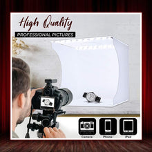 Load image into Gallery viewer, LED Studio Mini Photography Light Box