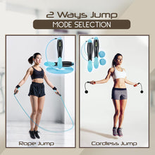 Load image into Gallery viewer, Digital Counting 2 Way Jump Rope