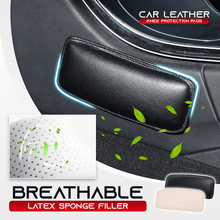 Load image into Gallery viewer, Car Leather Knee Protection Pads