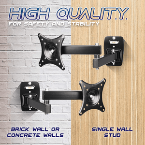 Free-Angle Adjustable Wall-Mounted TV Bracket