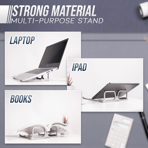 Foldable Glasses Laptop Stand
