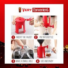 Load image into Gallery viewer, Drinks Upside Down Drinking Dispenser