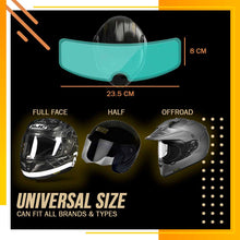 Load image into Gallery viewer, Universal Helmet Anti-Fog Film (With Free Side Mirror Films)