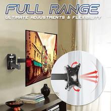 Load image into Gallery viewer, Free-Angle Adjustable Wall-Mounted TV Bracket