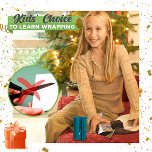 Wrapping Paper Quick Cutter