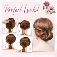 Load image into Gallery viewer, Easy Hair Bun Maker Comb - Set For 4