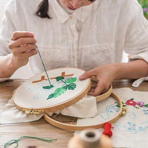 Hand Floral Embroidery Beginner Kit