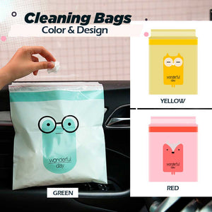 Biodegradable Self-Sticking Cleaning Bags