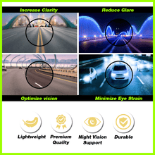 Load image into Gallery viewer, Photosensitive Nightvision Glasses